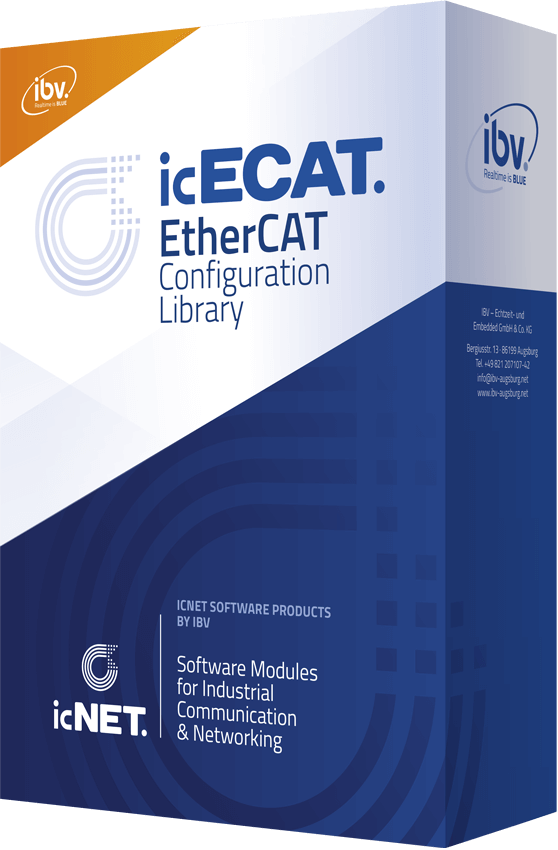 EtherCAT Network Configuration Library by IBV