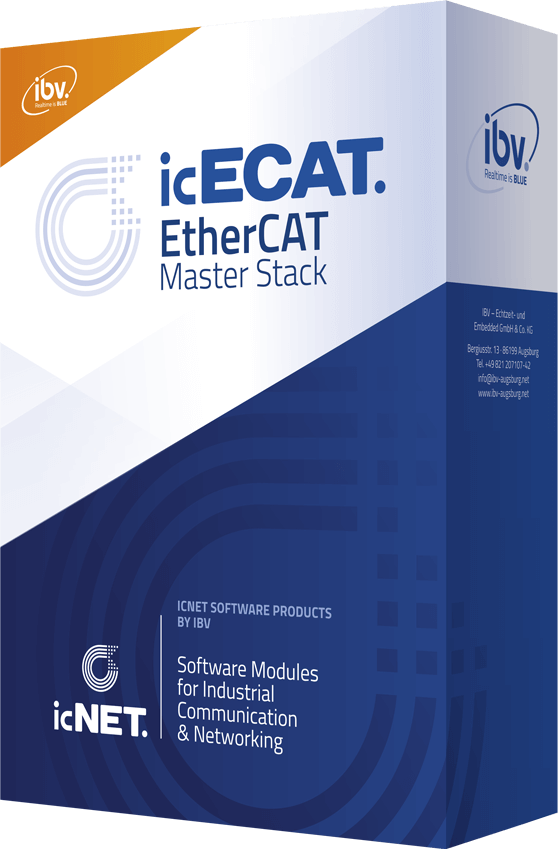 EtherCAT Master Stack Software by IBV