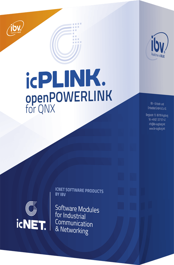 icPLINK openPOWERLINK for QNX by IBV
