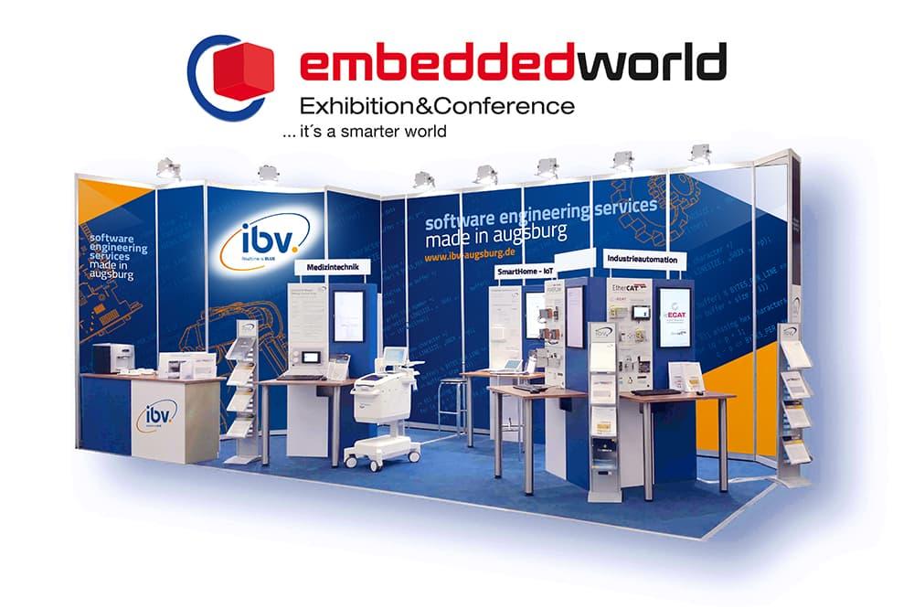 IBV - Embedded World 2021 - Messestand 4-109